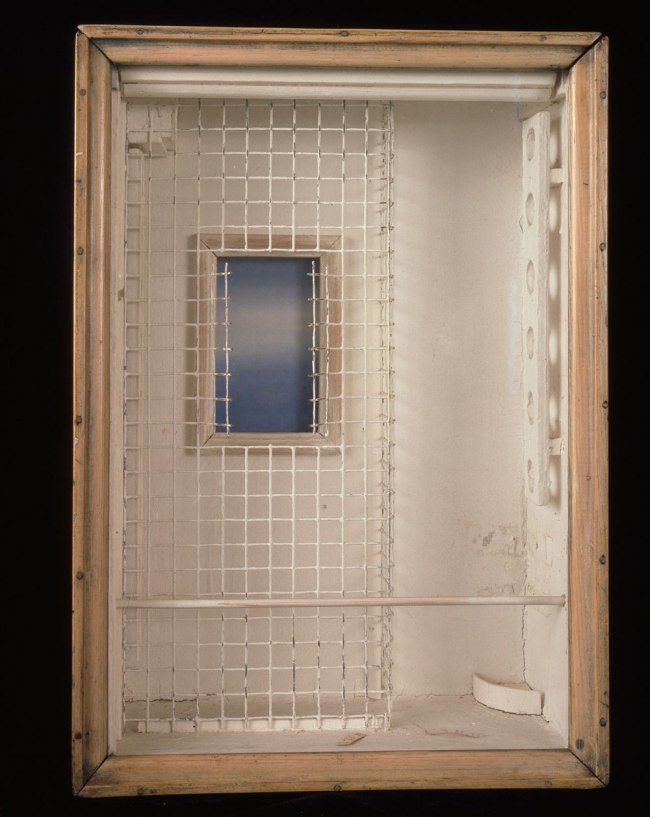 Joseph Cornell. 'Toward the Blue Peninsula - for Emily Dickinson' c. 1953