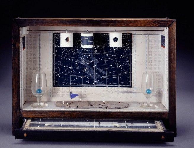 Joseph Cornell. 'Untitled (Celestial Navigation)' 1956-58