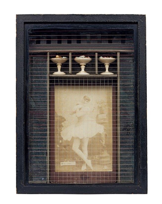 Joseph Cornell. 'Untitled (M'lle Faretti)' 1933