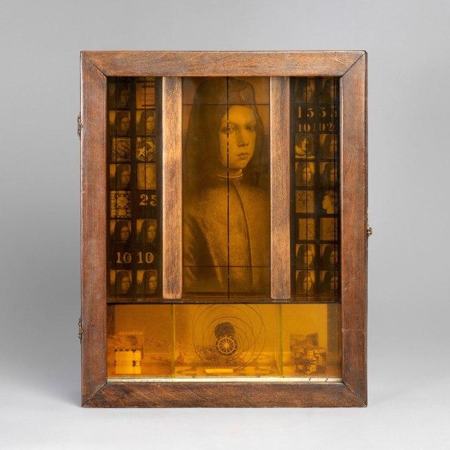 Joseph Cornell. 'Untitled (Pinturicchio Boy)' 1942-52
