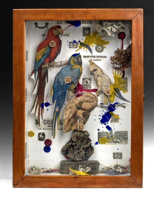 Joseph Cornell. 'Habitat Group for a Shooting Gallery' 1943