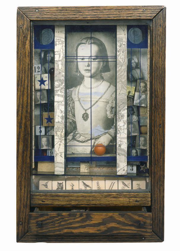 Joseph Cornell. 'Untitled (Medici Princess)' c. 1948
