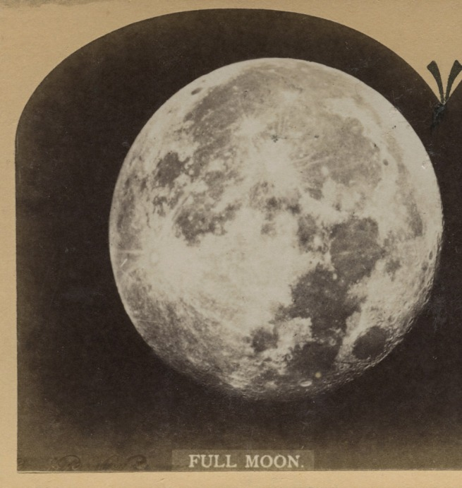 Unknown photographer. 'Full Moon' 1850-1900 (detail)