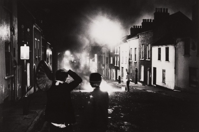 Hanns-Jörg Anders. 'Riots in Northern Ireland' 1969