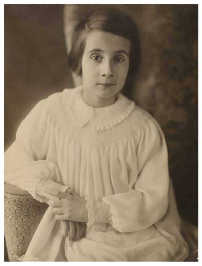 Minya Diez-Dührkoop. 'Portraits of Renate Scholz' 1920-1939 (detail)