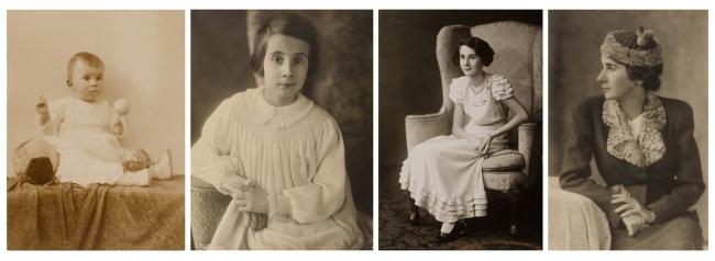 Minya Diez-Dührkoop. 'Portraits of Renate Scholz' 1920-1939