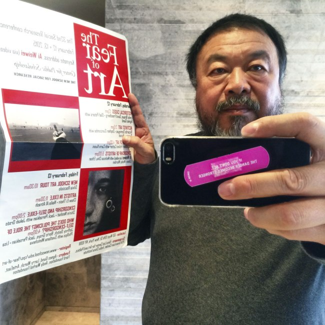 Ai Weiwei. 'January 30, 2015'