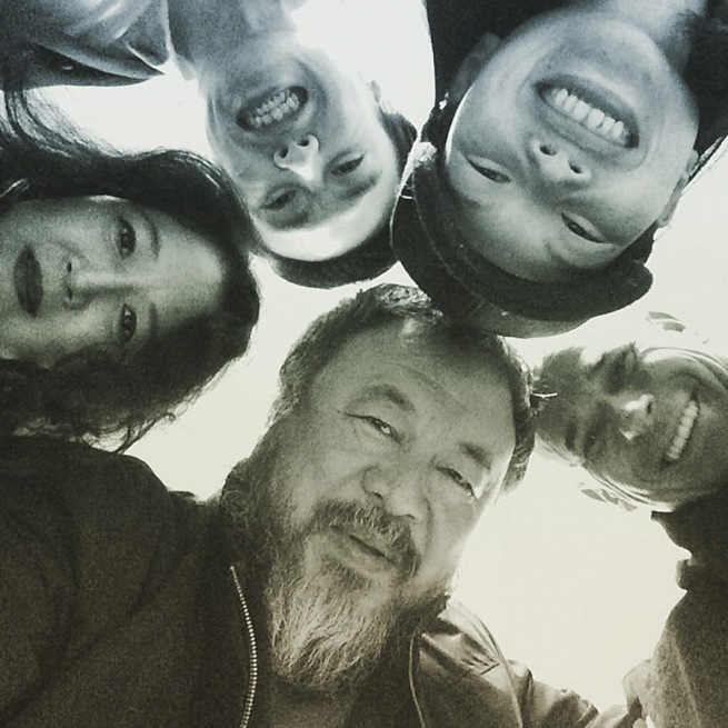 Ai Weiwei 'March 9, 2015'