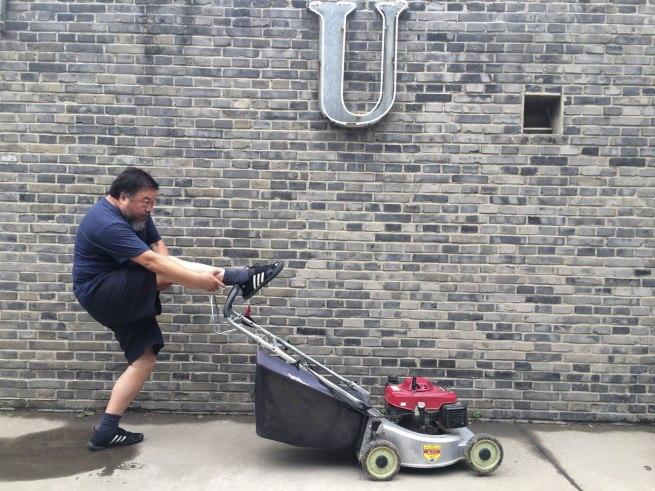Ai Weiwei. '16 June, 2014'