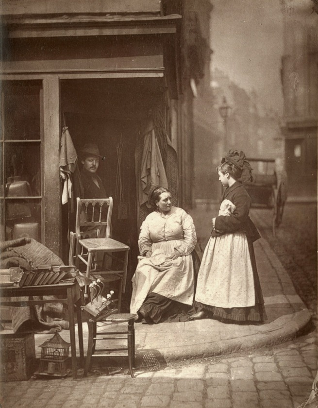 John Thomson. 'Old Furniture' 1877