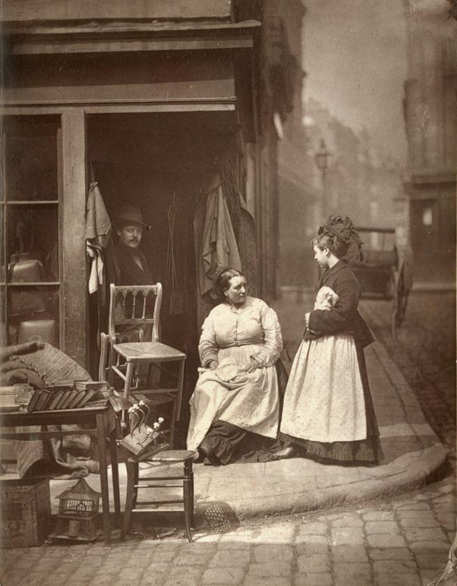 John Thomson. 'Old Furniture' 1877