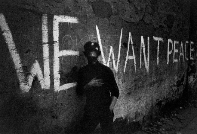 Hanns-Jörg Anders. 'We want peace, Londonderry, Northern Ireland' May 1969