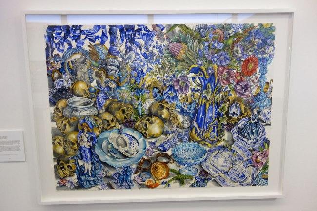 eX de Medici (b. Australia 1959) 'Blue (Bower-Bauer)' 1998–2000