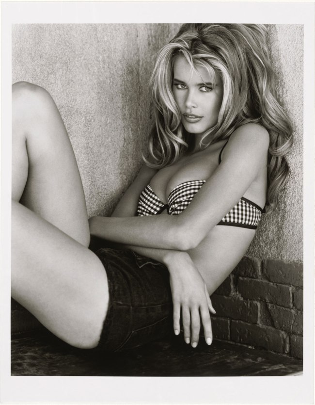 Herb Ritts. 'Claudia Schiffer, Palmdale' 1992
