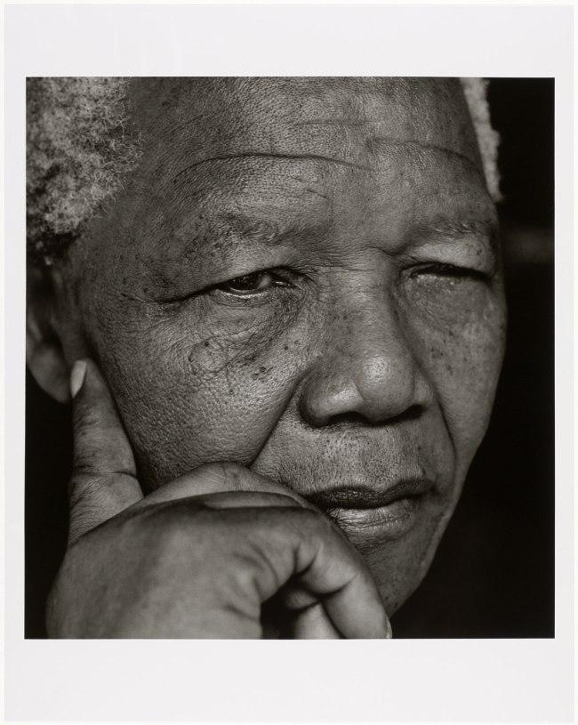 Herb Ritts. 'Nelson Mandela, Johannesburg' 1994