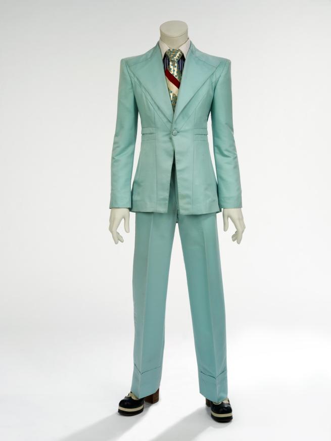 Freddie Burretti (designer) 'Ice-blue suit' 1972