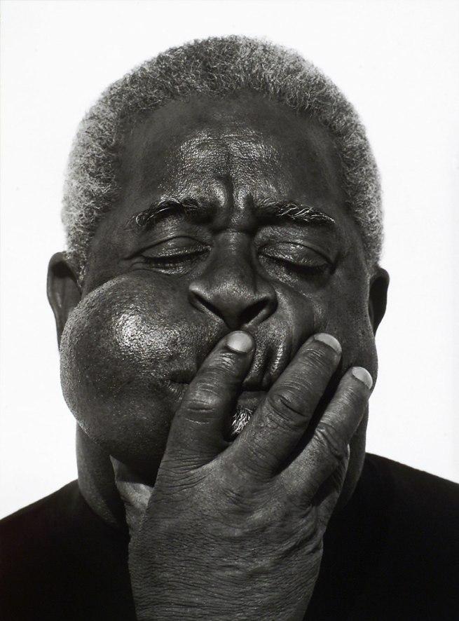 Herb Ritts. 'Dizzy Gillespie, Paris' 1989