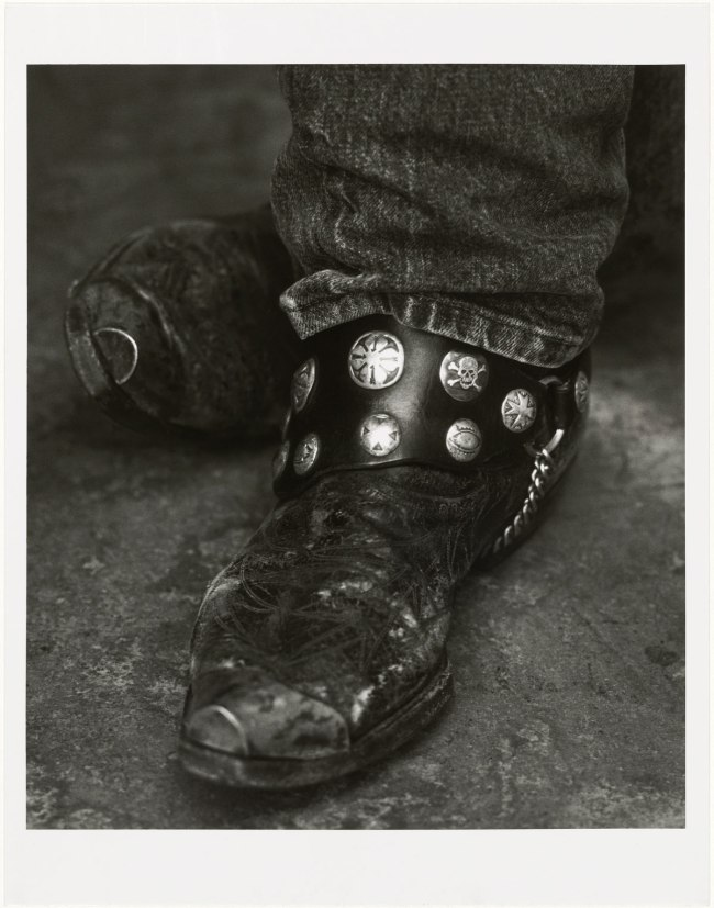 Herb Ritts. 'Bruce Springsteen (Detail II), New York' 1992
