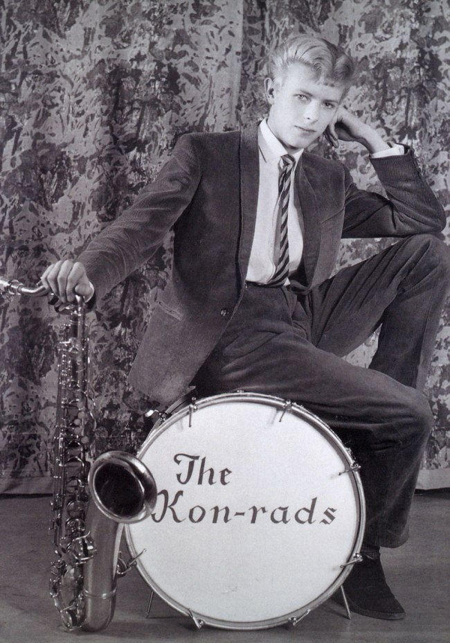 Roy Ainsworth. 'David Bowie in The Kon-rads' 1963