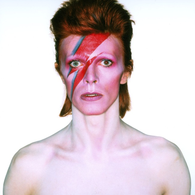 Brian Duffy. 'Album cover shoot for Aladdin Sane' 1973