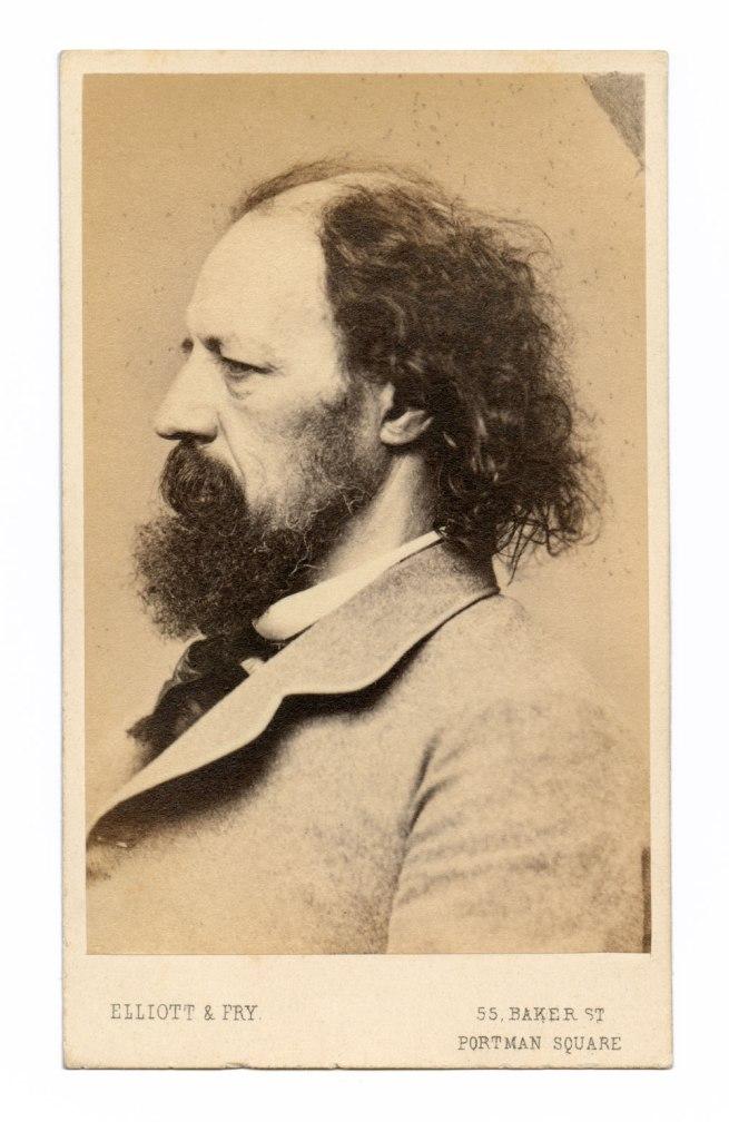 Elliot & Fry, 55 Baker Street, Portman Square, London. 'Alfred, Lord Tennyson' 1865-86