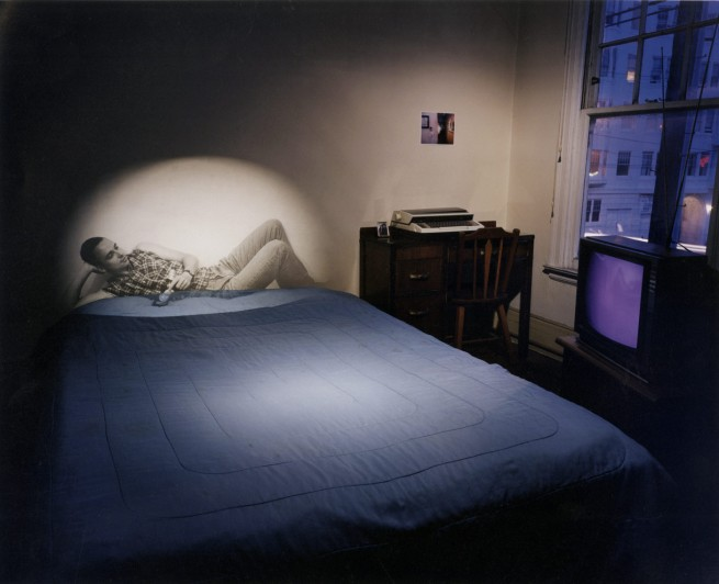 Shimon Attie (born 1957) 'Untitled Memory (projection of Axel H.)' 1998