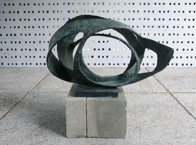 Barbara Hepworth. 'Oval Form (Trezion)' 1961-63