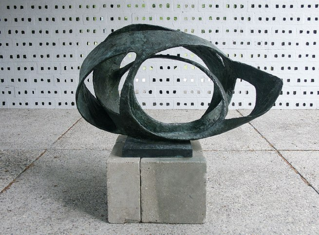 Barbara Hepworth. 'Oval Form (Trezion)' 1961-63
