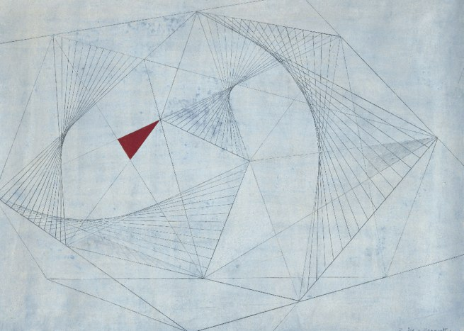 Barbara Hepworth. 'Red in Tension' 1941