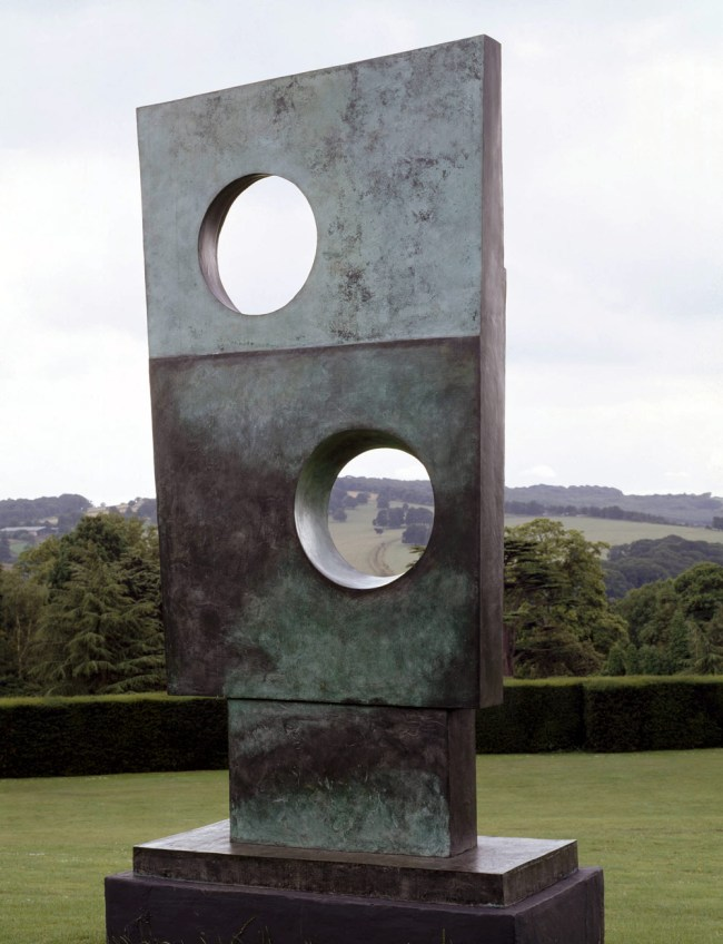 Barbara Hepworth. 'Squares with Two Circles' 1963