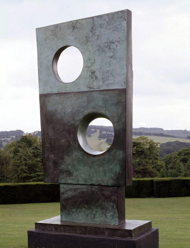 Barbara Hepworth. 'Squares with Two Circles' 1963