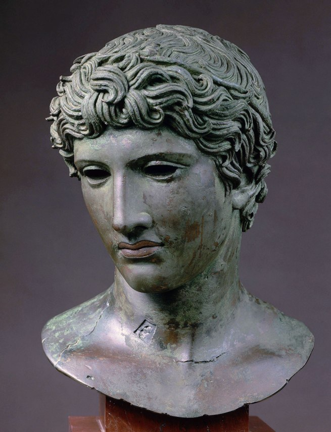 "Bust of a Youth ""The Beneventum Head"" About 50 B.C."