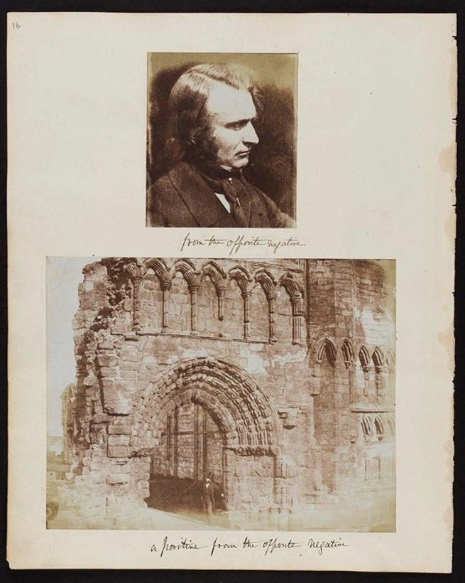 Calotype photographs from an album compiled by Dr John Adamson, among the earliest in Scotland