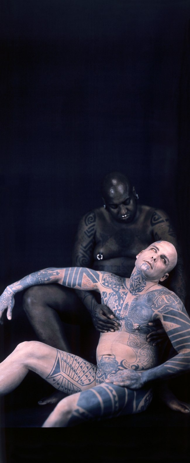 Catherine Opie (Born Sandusky, Ohio, 1961) 'Ron Athey/The Sick Man (from Deliverance)' 2000