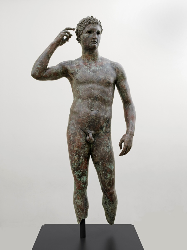 "Victorious Athlete, ""The Getty Bronze"" 300-100 B.C."