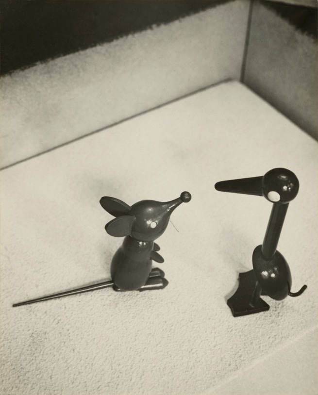 André Kertész (American, born Hungary, 1894-1985) '[Wooden Mouse and Duck]' 1929