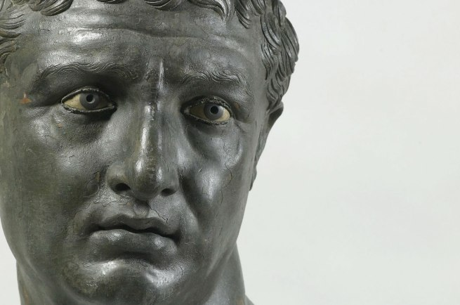 Portrait of a Man, about 100 B.C. Greek, from Delos (detail)