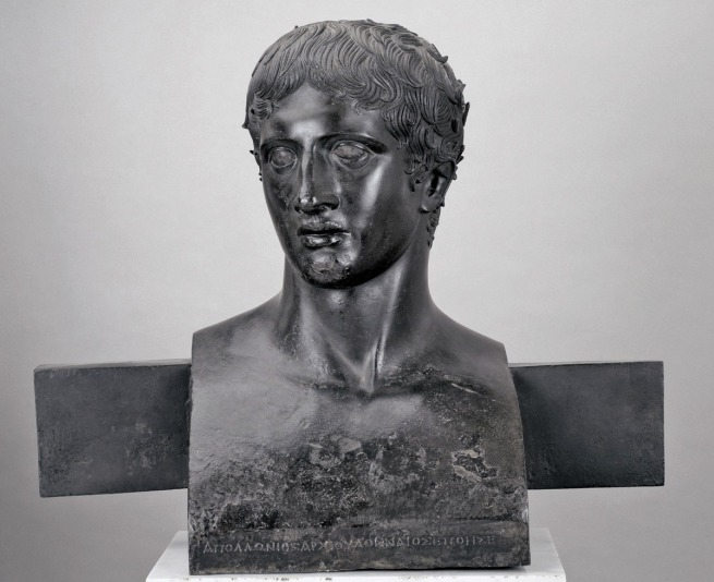 Herm Bust of the Doryphoros 50-1 B.C.