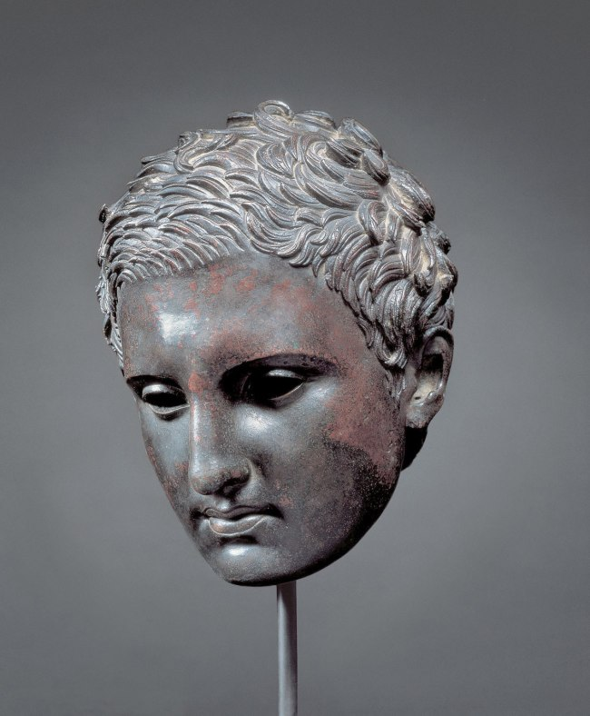 Head of an Athlete Ephesian Apoxyomenos type 200-1 B.C.