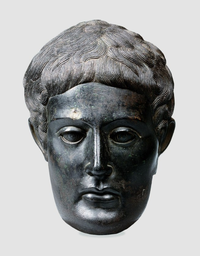 Head of a Votive Statue 375-350 B.C.