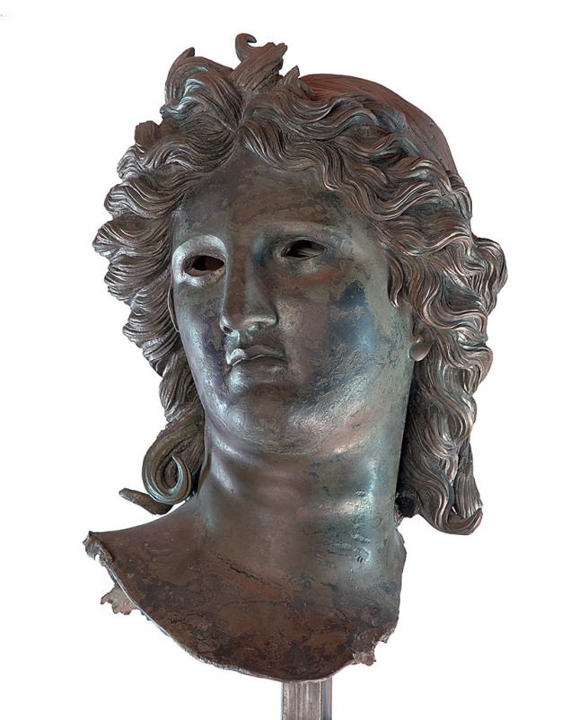 Head of Apollo 50 B.C.-A.D. 50