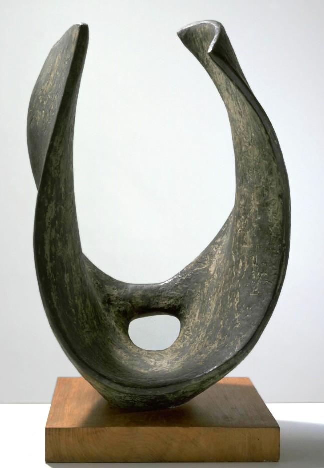 Dame Barbara Hepworth. 'Curved Form (Trevalgan)' 1956