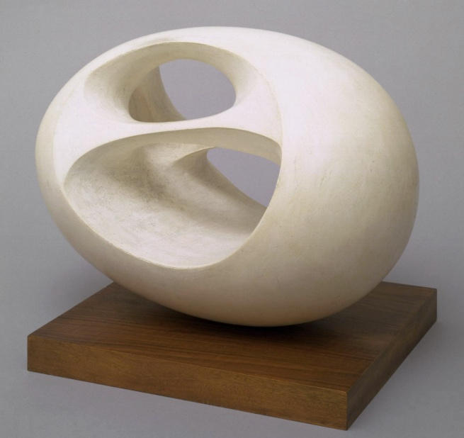 Dame Barbara Hepworth. 'Oval Sculpture (No. 2)' 1943, cast 1958