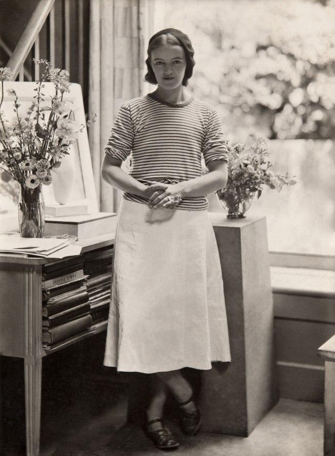 Paul Laib. 'Hepworth in the Mall Studio, London' 1933