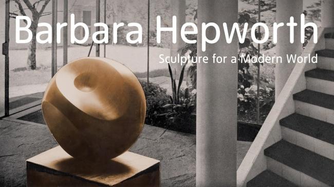 Barbara Hepworth banner