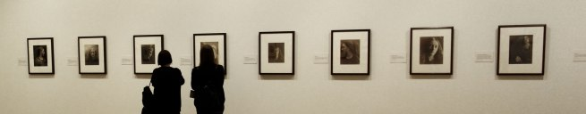Installation view of the exhibition 'Julia Margaret Cameron: from the Victoria and Albert Museum, London' at the Art Gallery of New South Wales, Sydney (detail)
