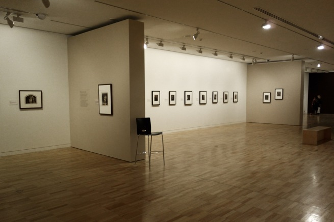 Installation view of the exhibition 'Julia Margaret Cameron: from the Victoria and Albert Museum, London' at the Art Gallery of New South Wales, Sydney