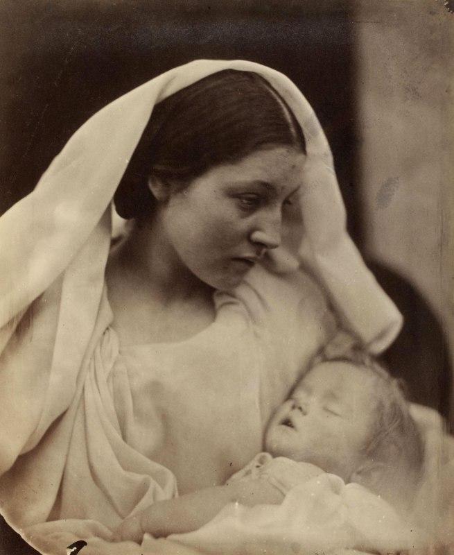 Julia Margaret Cameron. 'Resting in Hope; La Madonna Riposata' 1864