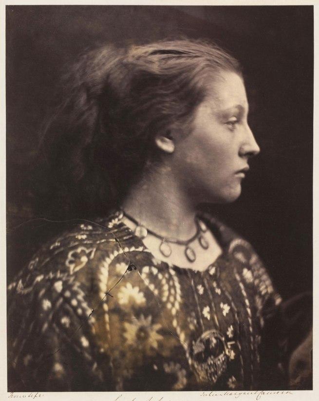 Julia Margaret Cameron. 'Sappho' 1865