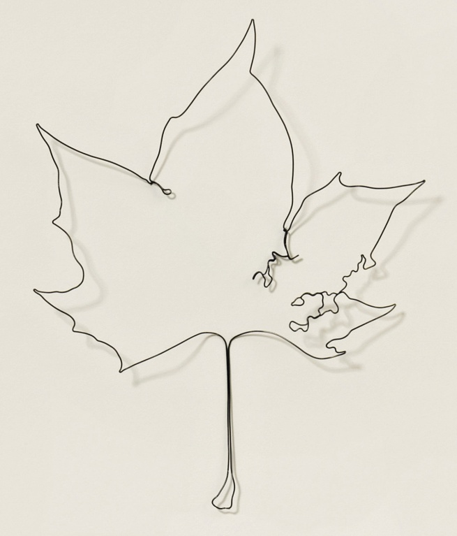 Eric Rhein (Born Cincinnati, Ohio, 1961) 'Life Altering Spencer from Leaves' 2013